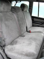 REAR SHEEPSKIN CAR SEAT COVERS