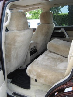 Bamboo Sheepskin Car Seat Covers