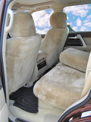 Lambswool Seat Covers